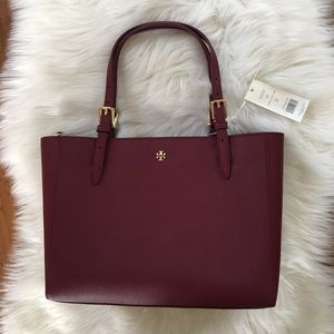 NWT Tory Burch Emerson Small Buckle Tote